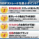 SBI FXトレード 評判 評価